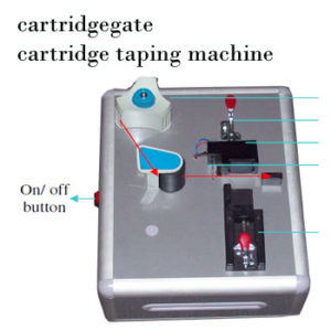 Cartridge tape sealing machine
